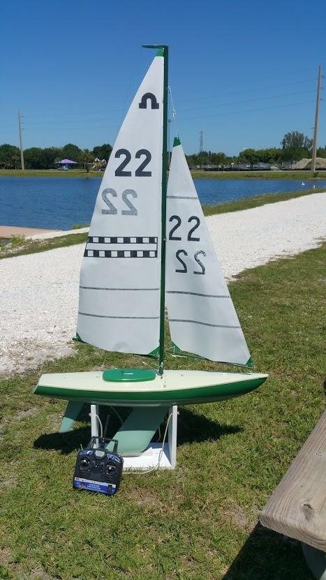 Mylar rc sails